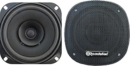 Roadstar PS-1015 Atavoces de Coche 10 cm, Coaxial, 2 Vías, 2 Altavoces, HiFi, 30W, 90 Db, 100-18000 Hz