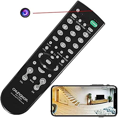 LXDZXY Telecamera Spia Nascosta WiFi, Telecamera di Controllo Remoto WiFi per Baby Sitter Cam HD 4K Nanny Cam, Telecamera di Monitoraggio della Sicurezza Interna Supporto Android/iOS
