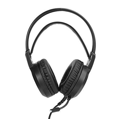 Socobeta Auriculares ergonómicos con cancelación de ruido y uso prolongado para teléfonos móviles de PC en la oficina