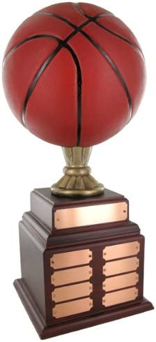 Awards and Gifts R Fashionable Limited time cheap sale Us Perpetual Handpainted Trophy Basketball