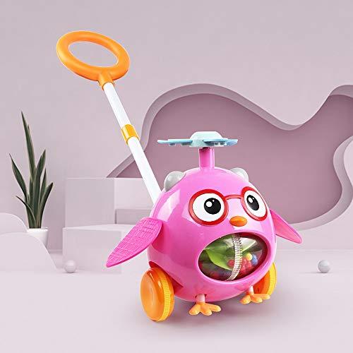 Lihgfw Spielzeug mit interaktiven Lernspielen, Babywanderer, Kinderwagen, Spielzeug für Kinder, Bildungsspielzeug für Jungen und Mädchen über 1 (Color : Rosa)