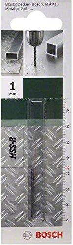 Bosch 2 609 255 000 - Broca para metal HSS-R, DIN 338
