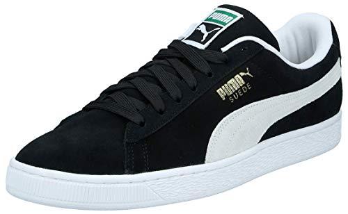Puma Unisex Suede Classic+ Sneaker, Schwarz (black-white), 46 EU