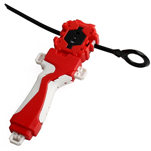 Jkrotry Bey Battle Burst Power Ripcord Launcher and Grip.Let it rip with Bey Burst,The Third Generation of The Popular Bey Battling Top!(Red)