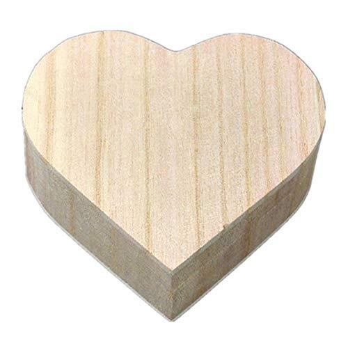 Demarkt Caja de almacenamiento de madera de estilo retro