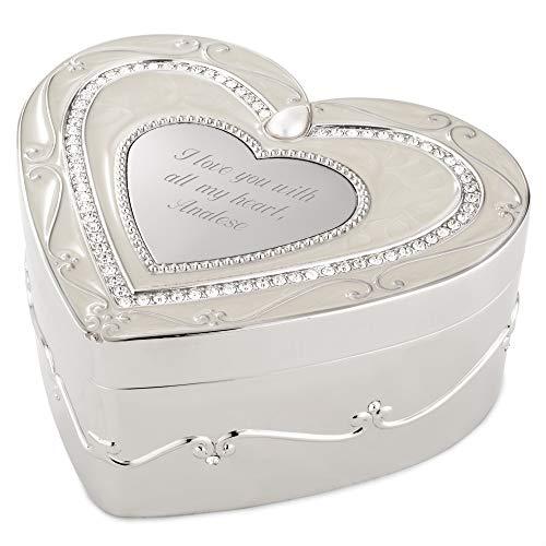 Regal Elegance Heart Keepsake Box (Free Customization) - Things Remembered