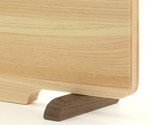 ダイワ産業まな板(中)木製ひのき食洗機対応軽量【スタンド付き】日本製防カビ撥水加工36cm