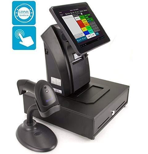 schwarz COCO110 Barcodescanner-Halterung Universal-Handscanner-Halterung