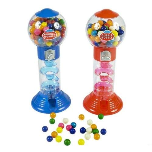 Unbranded NEW DUBBLE BUBBLE SPIRAL GUMBALL MACHINE BANK 10quot w/gumballs NANSY