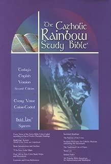 Holy Bible: The Catholic Rainbow Study Bible : Today's English Version : Imitation Leather