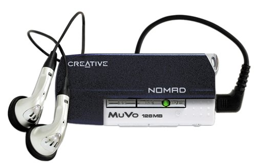 Creative Labs NOMAD MuVo 128 MB MP3 Player