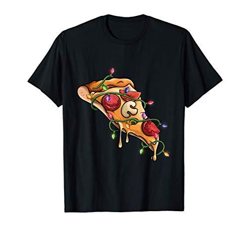 slice of pizza Christmas PJs pizza pajama men women kids Maglietta