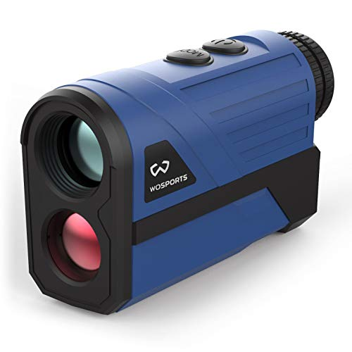 Wosports Golf Rangefinder, 650 Yards Laser