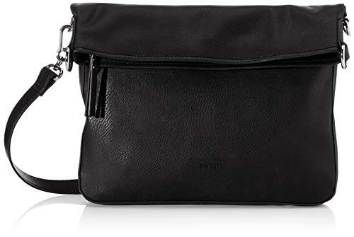 ESPRIT Flap Over-Bag in Leder-Optik