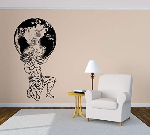 Atlas God Greek Mythology Wall Vinyl Sticker Car Mural Decal Art Decor LP7669