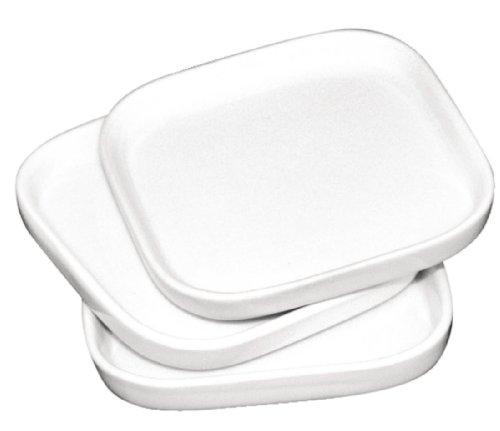 Olympia y140 Plat Miniature Plat, Blanc (Lot de 12)