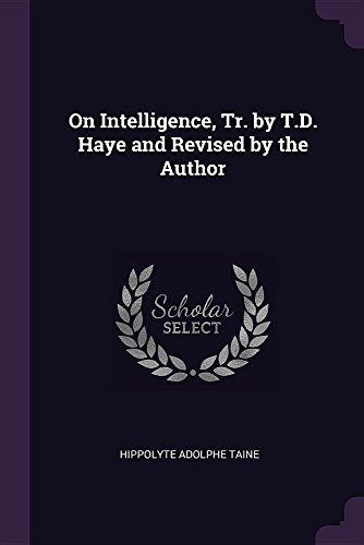 ON INTELLIGENCE TR BY TD HAYE