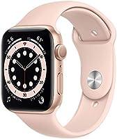 Novo Apple Watch Series 6 - GPS, 44 mm - Caixa de Alumínio Rose Gold com Pulseira Esportiva Rose Gold