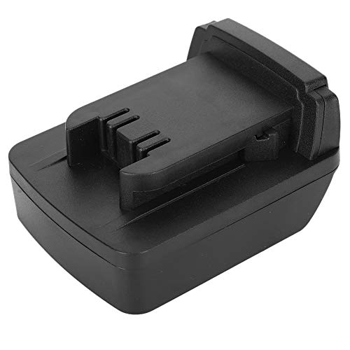 Fafeicy Battery Adapter, Built‑in PCBA Voltage Protection Black for DEWALT DCB200 to for Milwaukee M18, with Simple Connection, Exquisite Craftsmanship, Light and Practical