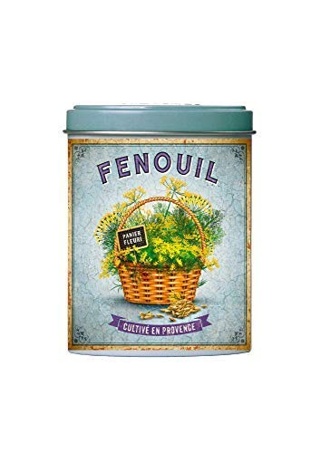 Esprit Provence Finocchio di Provenza in Lattina di Metallo Ideale per Pesce, Insalate e Zuppe - 1 x 50 Grammi