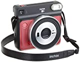 Fujifilm INSTAX SQ6 RUBY RED Appareil photo instantané Rouge/Bleu