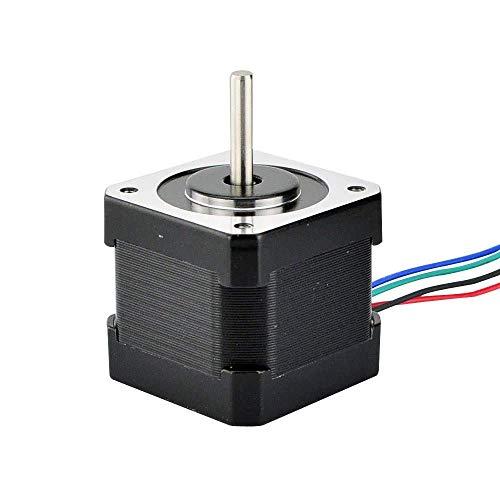 3PCS Nema 17 Stepper Motor 40mm 45Ncm(64oz.in) 2A 4-lead Nema17 Step Motor 1m Cable for DIY 3D Printer CNC Robot 3D Printer Parts