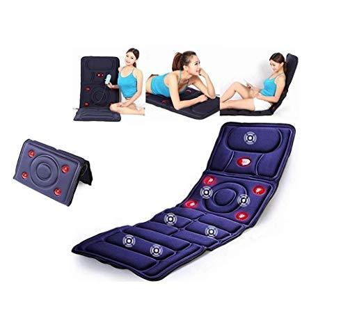 Elektrische massage kussen, ver infrarood Trilling Multifunctionele diepe kneden, automatische verwarming, vibrerende ontspannen spierspanning in de rug, nek, schouders, rug en wanneer shoulder and ne