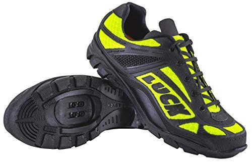 LUCK Chaussures de Cyclisme Predator 18.0, avec Semelle en EVA Idéal pour s'adapter à Tous Les terrains et à Toutes Les disciplines Sportives … (37 EU, Jaune)