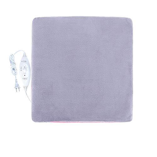 Preisvergleich Produktbild ARAYACY Entfernbare Und Waschbare Elektrische Heizungs-Auflage-warme Auflage / Büro-Heizungs-Stuhl-Kissen-Heizdecke 45X45cm, E