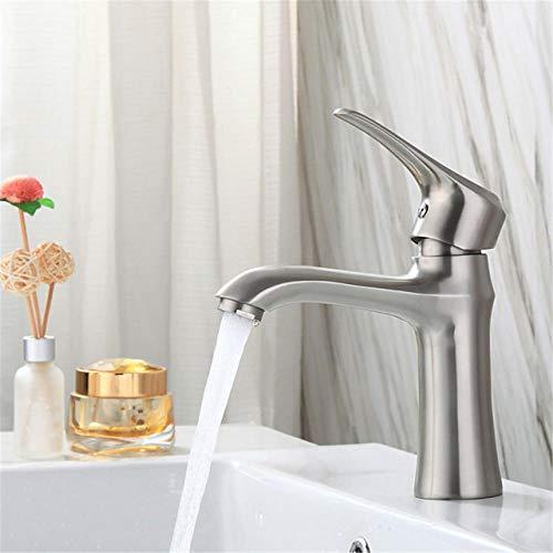 Grifo de lavabo de gabinete contra incendios de acero inoxidable 304 Lavabo de baño Lavabo inferior Lavabo de agua caliente y fría AG 1/2