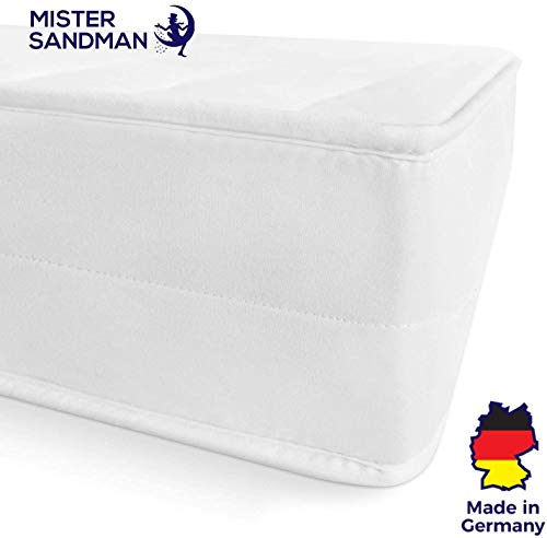 Mister Sandman ergonomische 7 Zonen Matratze, H2 H3 Härtegrad 2in1, Wendbar,...