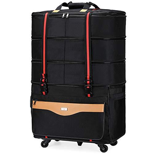 ボストンキャリー ボストンバッグ キャスター付き 大容量 トロリーバッグ トラベルバッグ 防水キャリーバッグ 静音5輪キャスター ビジネス 海外旅行