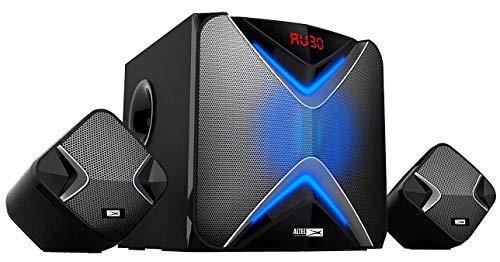 Altec Lansing AL-2.1-01 Multimedia Speaker 2.1, Black
