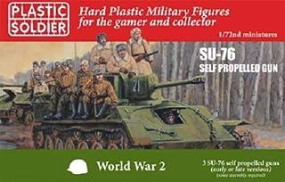 プラスチックソルジャー 1/72 ソ連軍 SU-76 自走砲 前期型/後期型 (車両3台分入) プラモデル PSCWW2V20030