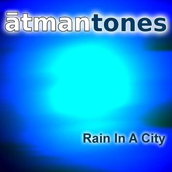 Rain in a City