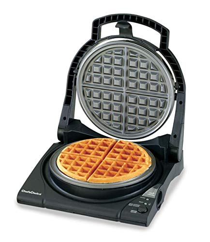 Chef'sChoice 840B WafflePro Taste/Texture Select Nonstick Classic Belgian Waffle...