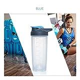 YUNGYE Tragen Sie Mich 500 ml 700 ml Kreative Protein Pulver Shake Flasche Mischen Flasche Sport Fitness Wasserkocher Protein Shaker Sport Wasserflasche -