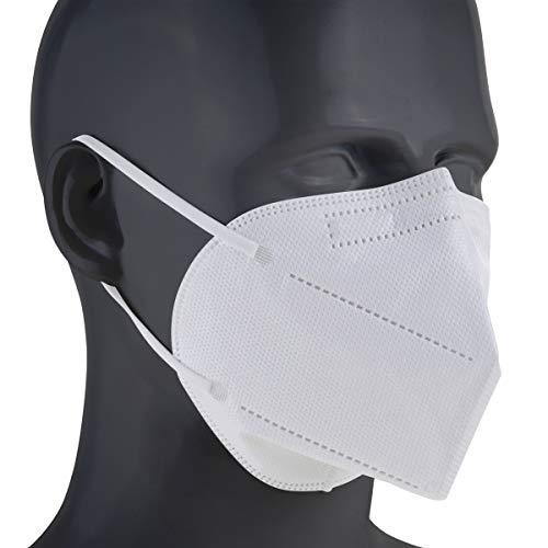 5 Stück OP Maske Medizinische Schutzmaske Typ IIR Mundschutz 4-lagig Atemschutzmaske CE EN 14683 geprüft BEF 99.9%