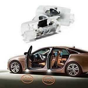 Luces de puerta de coche LED 3D para coche, sombra fantasma, luz de entrada de luz de bienvenida, proyector de luz de logotipo (para yota)