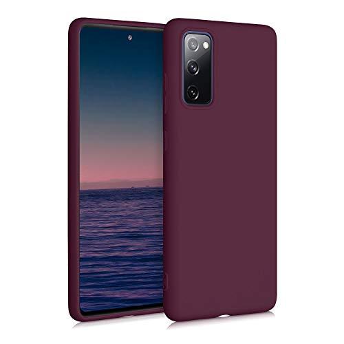 kwmobile Hülle für Samsung Galaxy S20 FE - Handyhülle - Handy Hülle in Bordeaux Violett