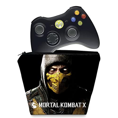Capa Xbox 360 Controle Case - Mortal Kombat X #a