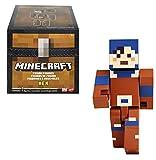 Minecraft Dungeons Hex Figura de fusión, cofre con juguete con accesorios, regalo para niños +6 años (Mattel GVV15)