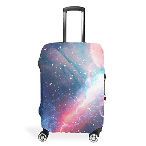 Funda protectora para equipaje de viaje, espacio único, varios tamaños para la mayoría de maletas., blanco (Blanco) - BTJC88-scc