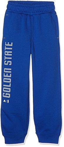 adidas Jungen NBA Golden State Warriors Fanwear Hose, Blue, 176