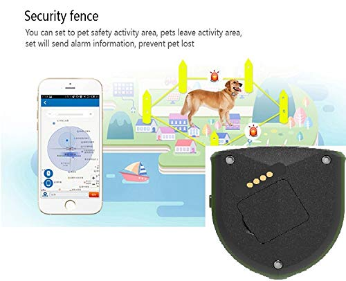 Pet Tracker Petfinder GPS Tracking Unit Dogs Cats Horses Remote Activity Tracking Collar Tag Locator