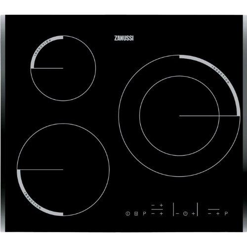 Zanussi zei6632bba – Plaque de déclenchement zei6632bba avec 3 zones de cuisson