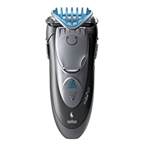 Braun Cruzer 6 Electric Shaver / Styler / Trimmer  3-in-1 Ultimate Hair Clipper  Wet & Dry  Fully Washable