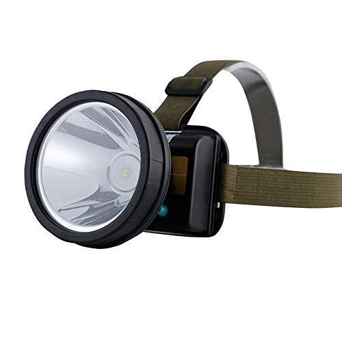 SHRAY Building Headlights,Waterproof Miner's Lamp, Xenon Lamp,USB Charging Headlight, Brightness,Waterproof Headlight,Two Lighting Modes,Suitable For