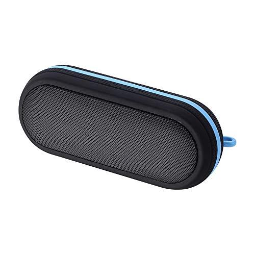 LRWEY Wireless Bluetooth Lautspreche, BT-18 Wasserdichter Outdoor-Sport Anti-Fall Wireless Tragbare Bluetooth-Lautsprecher, MP3-Player