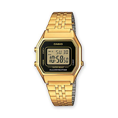 Casio Collection DamenRetro Armbanduhr LA680WEGA-1ER